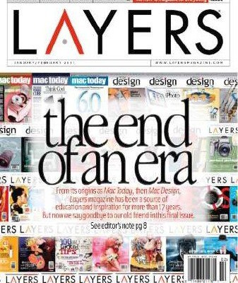 Last Issue of Layers magazine